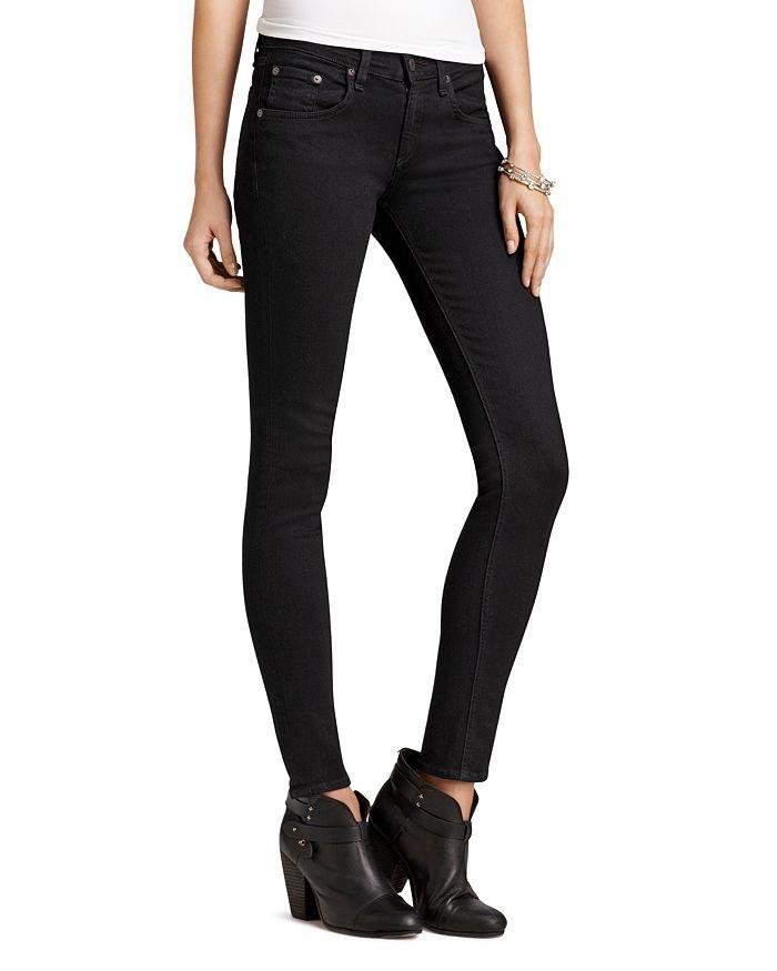 0a90b2ccf7764 rag & bone/JEAN Jeans - Skinny Jeans in Coal Wash | Bloomingdale's