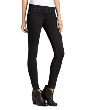 rag & bone/Jean Jeans - Skinny Jeans in Coal Wash