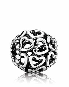 PANDORA Moments Collection Sterling Silver Open Your Heart Charm - Bloomingdale's_0