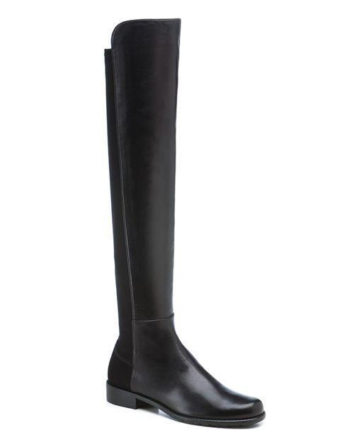 Stuart Weitzman - Women's Leather 5050 Over-the-Knee Boots