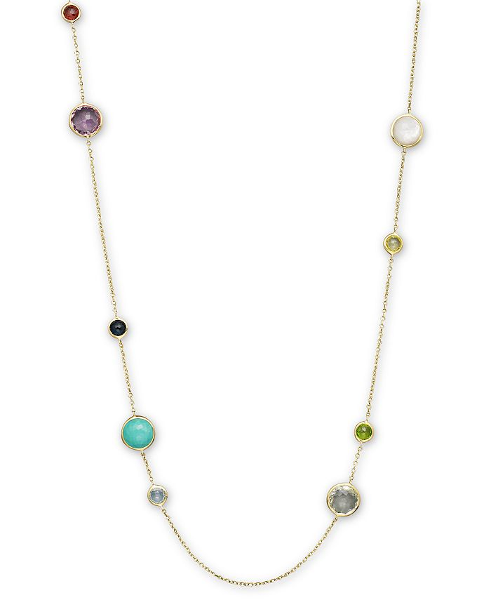 IPPOLITA - Ippolita 18K Gold Multi Lollipop Necklace, 36""