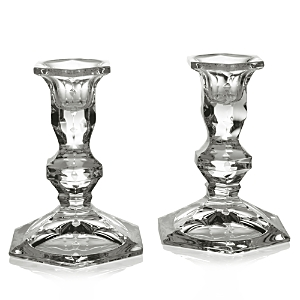 William Yeoward Crystal Polly Candlesticks, Set of 2