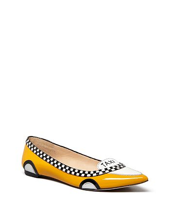 08211cfcff77 kate spade new york - Women s Go Taxi Ballet Pointed Toe Flats