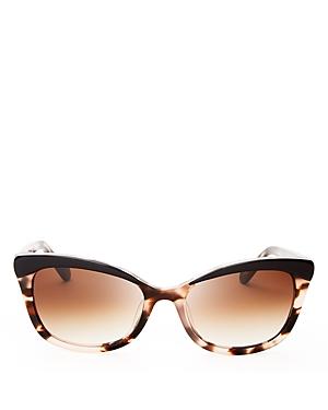 kate spade new york Amara Cat Eye Sunglasses, 55mm