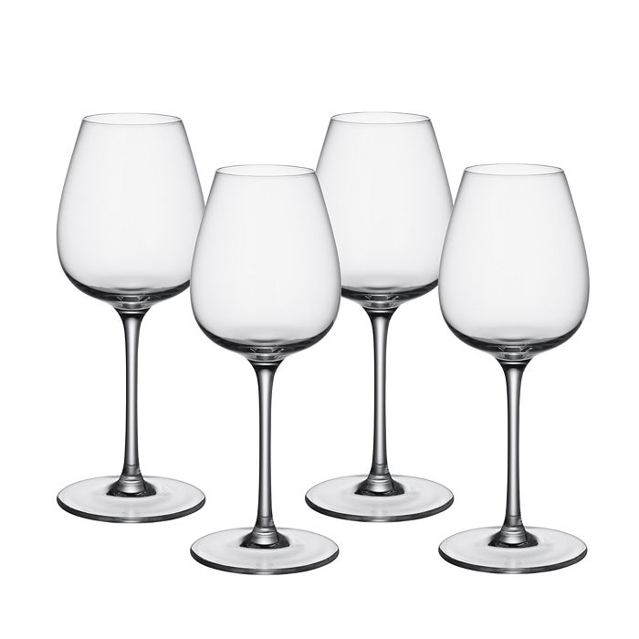 Villeroy & Boch - Purismo Red Wine Intricate & Delicate Glass, Set of 4