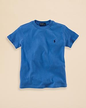Ralph Lauren Childrenswear Boys Crewneck TShirt  Big Kid