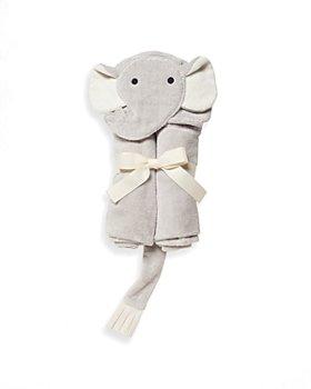 Elegant Baby - Infant Unisex Elephant Baby Bath Wrap