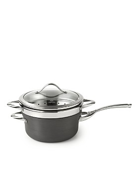 Calphalon - 4.5-Quart Steamer Pan & Lid with Insert