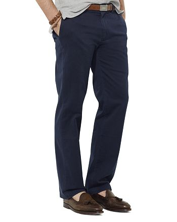 classic hot sale online authentic Polo Ralph Lauren Flat-Front Chino Pants - Classic Fit ...