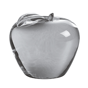 Simon Pearce Apple Paperweight