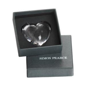 Simon Pearce Highgate Heart Gift Set, S