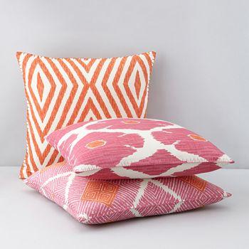 JR By John Robshaw Poppy Lotus Decorative Pillows Bloomingdale's Cool Poppy Decorative Pillows