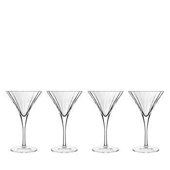 Luigi Bormioli - Bach Martini Glass, Set of 4