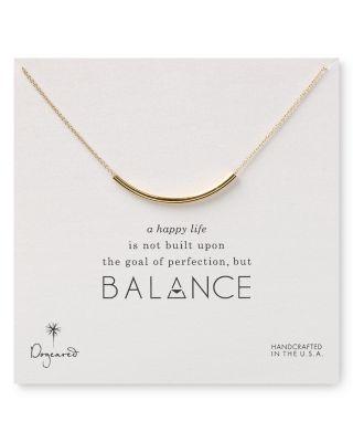 """Balance Tube Necklace, 16"""""""