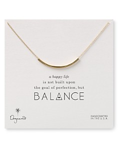"Dogeared Balance Tube Necklaces, 18"" - Bloomingdale's_0"