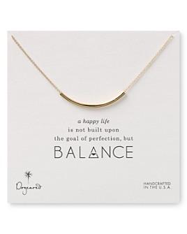 "Dogeared - Balance Tube Necklaces, 18"""