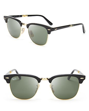 d97652d1d5 Ray-Ban - Unisex Folding Clubmaster Sunglasses