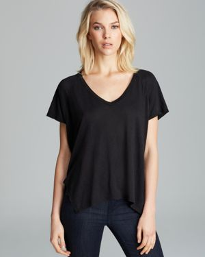 Velvet by Graham & Spencer Tee - Darcy Side Slit