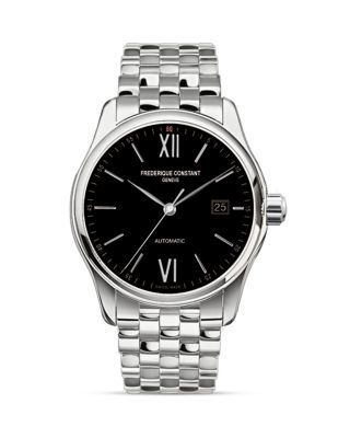 Classics Index Automatic-Self-Wind 5ATM Stainless Steel Watch