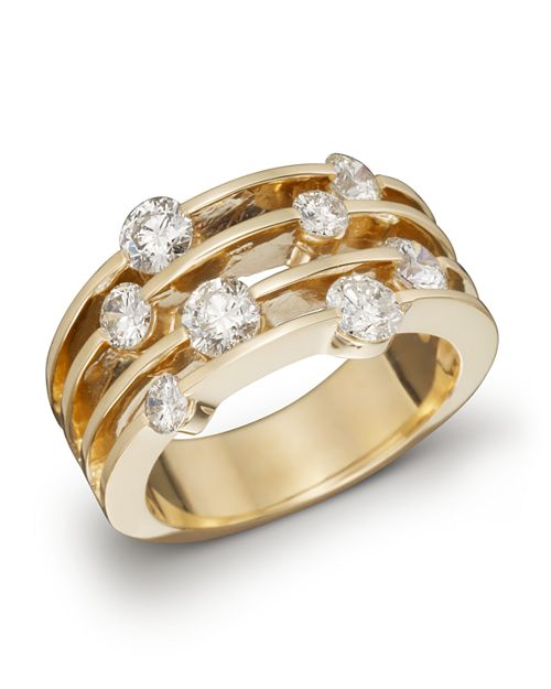Bloomingdale's - Diamond Band in 14K Yellow Gold, 1.50 ct. t.w.- 100% Exclusive
