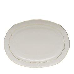 Herend Golden Edge White Platter - Bloomingdale's_0