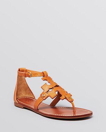 6cf0d163842e9 Tory Burch - Flat Thong Sandals - Phoebe