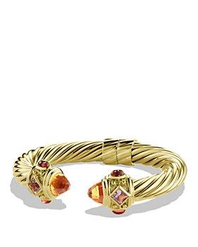 David Yurman - Renaissance Bracelet with Citrine and Iolite in Gold
