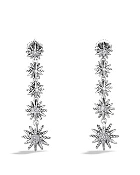 David Yurman - Starburst Drop Earrings with Diamonds
