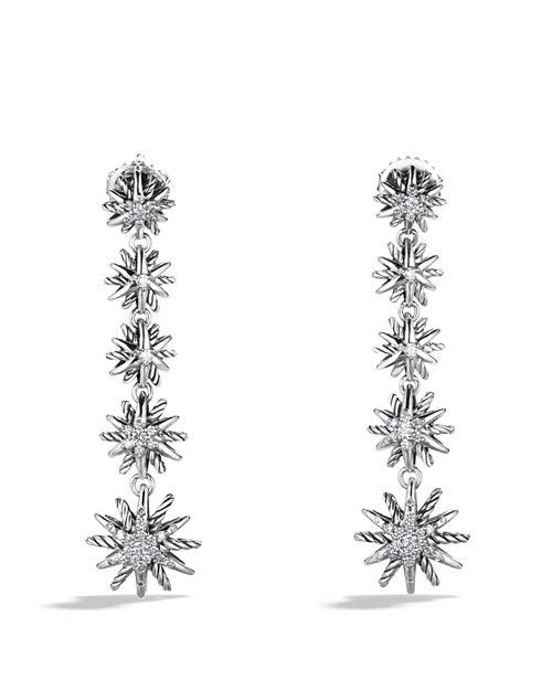 David Yurman - Starburst Drop Earrings with Diamonds