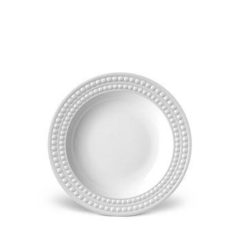 L'Objet - Perlee White Soup Plate