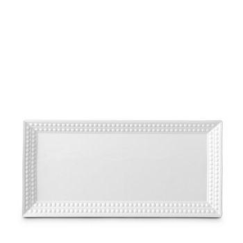 L'Objet - Perlee White Rectangular Platter
