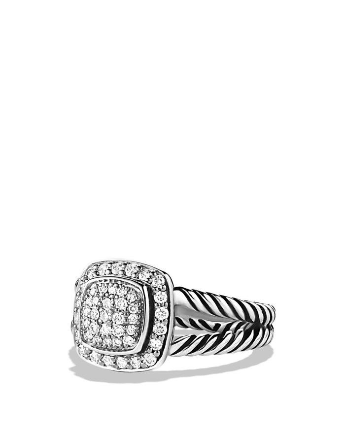 David Yurman Petite Albion Ring with Diamonds  | Bloomingdale's