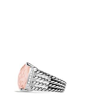 David Yurman - Wheaton Ring with Morganite and Diamonds