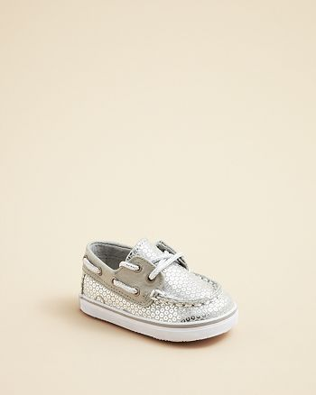 best authentic 154ab 91e67 Sperry - Infant Girls  Bahama Sequin Boat Shoes - Baby