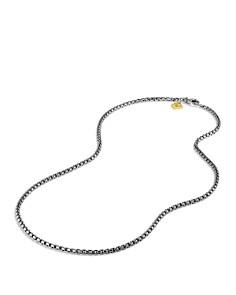 David Yurman - Small Box Chain with Gold