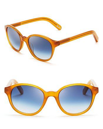 Elizabeth and James - Women's Madison Round Wayfarer Sunglasses