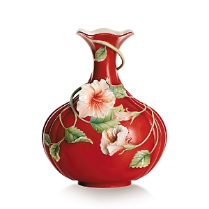 Franz Collection Island Beauty Hibiscus Flower Vase