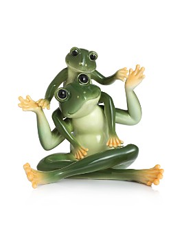 Franz Collection - Amphibia Frog Father & Son Figurine