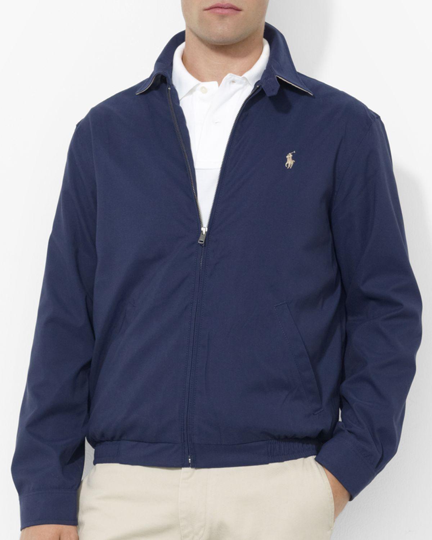 Polo Mens Microfiber Jacket Ralph Lauren
