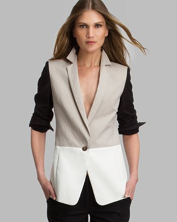HALSTON HERITAGE - Blazer - Color Block