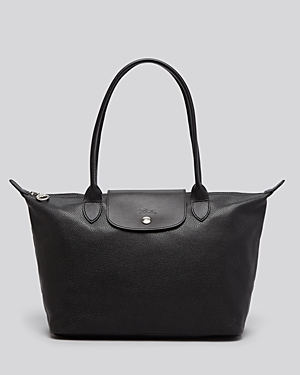 Longchamp Le Foulonne Leather Shoulder Tote - 100% Exclusive