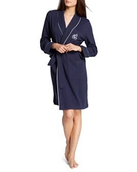 Ralph Lauren - Quilted Collar & Cuffs Short Robe