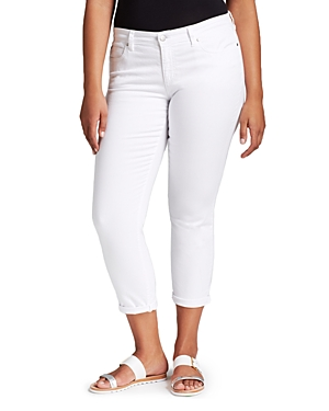 Eileen Fisher Plus System Slim Ankle Jeans