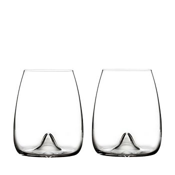 Waterford - Elegance Stemless Wine Glass, Pair