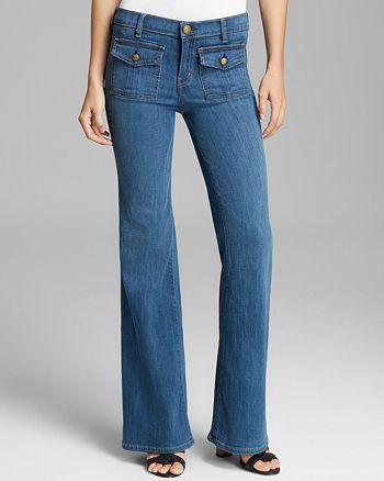 Current/Elliott - Jeans - The High Waist Dixie Wide Leg in Cooper
