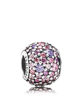 Pandora - Sterling Silver & Cubic Zirconia Pave Lights Charm