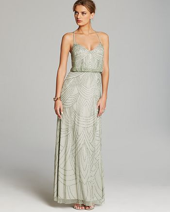 Adrianna Papell - Gown - Beaded Blouson