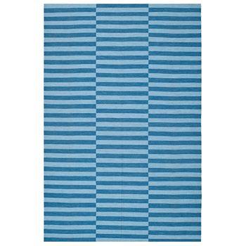 Ralph Lauren - River Reed Stripe Rectangle Indoor/Outdoor Rug, 9' X 12'