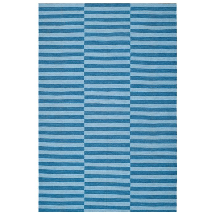 Ralph Lauren - River Reed Stripe Rectangle Indoor/Outdoor Rug, 5' x 8'