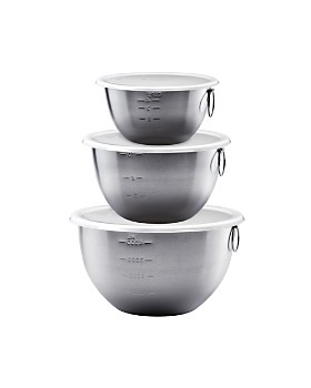 Tovolo - Stainless Steel Mixing Bowls, Set of 3
